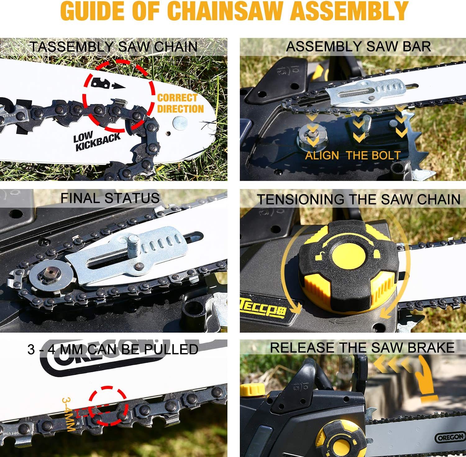 TECCPO TACS01G Chainsaws product image 4