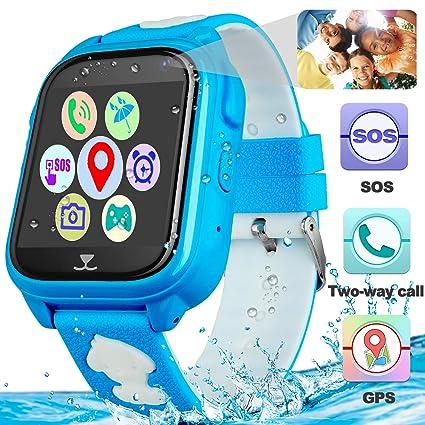 Amazon.com: Reloj inteligente para niños con monitor GPS ...