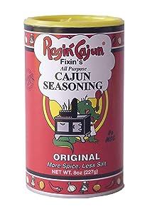 All Purpose Cajun Seasoning Original 8 oz Ragin' Cajun (Pack of 3)