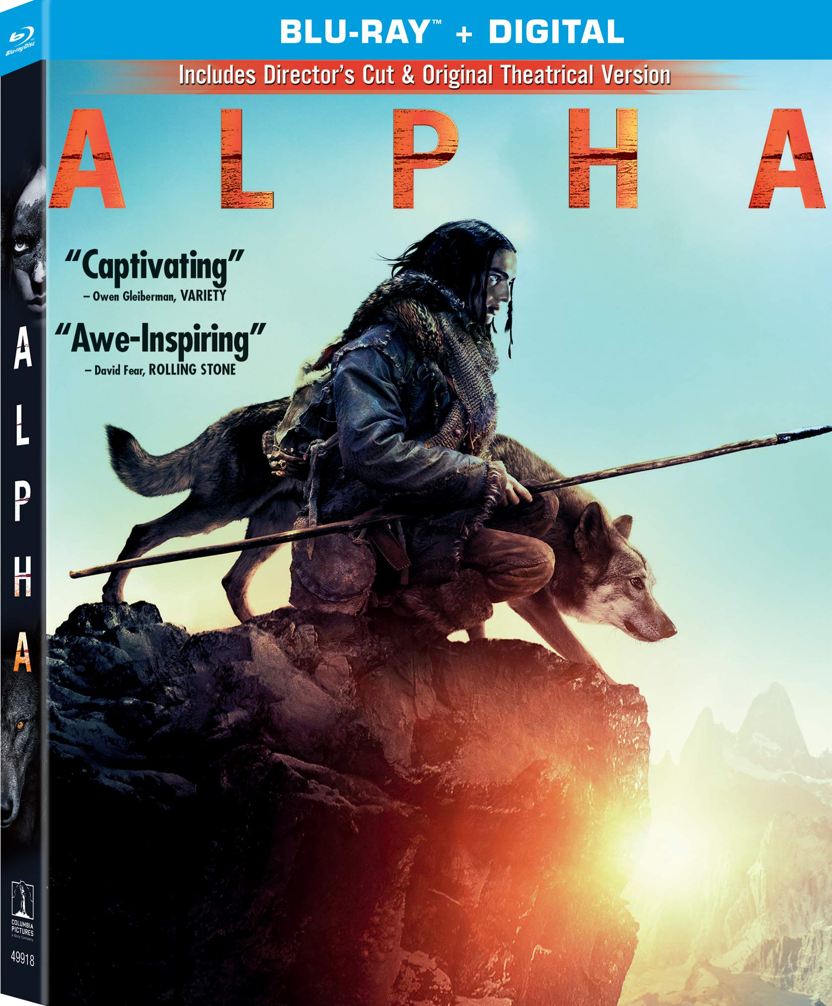 Blu-ray : Alpha (Subtitled, Digital Copy)