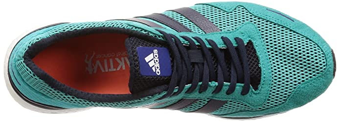 adidas Adizero Adios 3 m, Zapatillas de Running para Hombre, Azul (Hi Res AquaLegend F17Mystery Ink F17), 44 EU