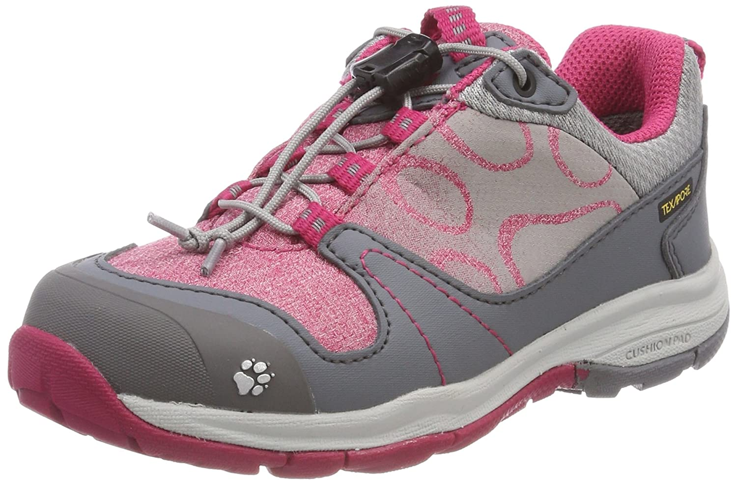 Jack Wolfskin Kids' Grivla Texapore Low G Hiking Shoe