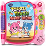 VTech Touch and Teach Word Book Amazon Exclusive, Pink