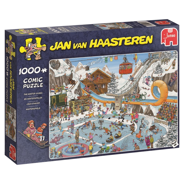 【アウトレット☆送料無料】 Jan van B077QHZQCJ Winter Puzzle Haasteren 19065 Winter Games Jigsaw Puzzle B077QHZQCJ, ボディーカバー専門店カバーランド:18bab60e --- a0267596.xsph.ru