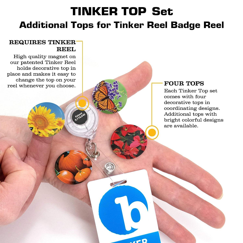 Amazon.com: Buttonsmith día festivo Tinker retráctil carrete ...