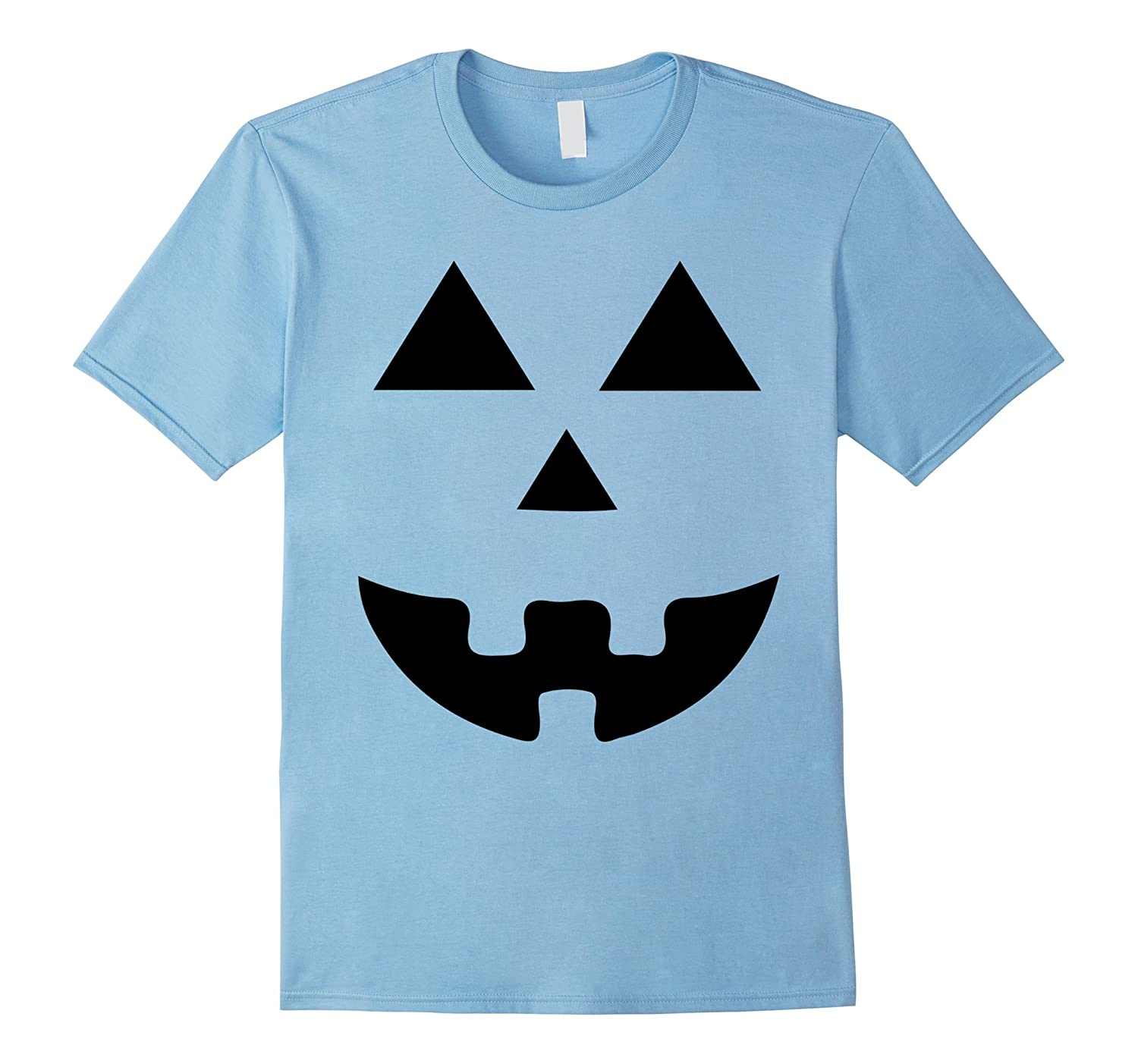 Halloween Pumpkin Face T-Shirt For Men Women Kids Toddlers-T-Shirt