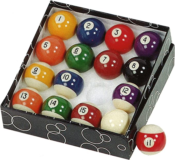 Gamesson Pool Balls - Bola de Billar, Color Multicolor: Amazon.es: Deportes y aire libre