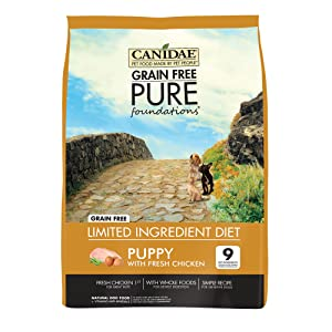 4. CANIDAE Grain-Free PURE (Dry Dog Food)
