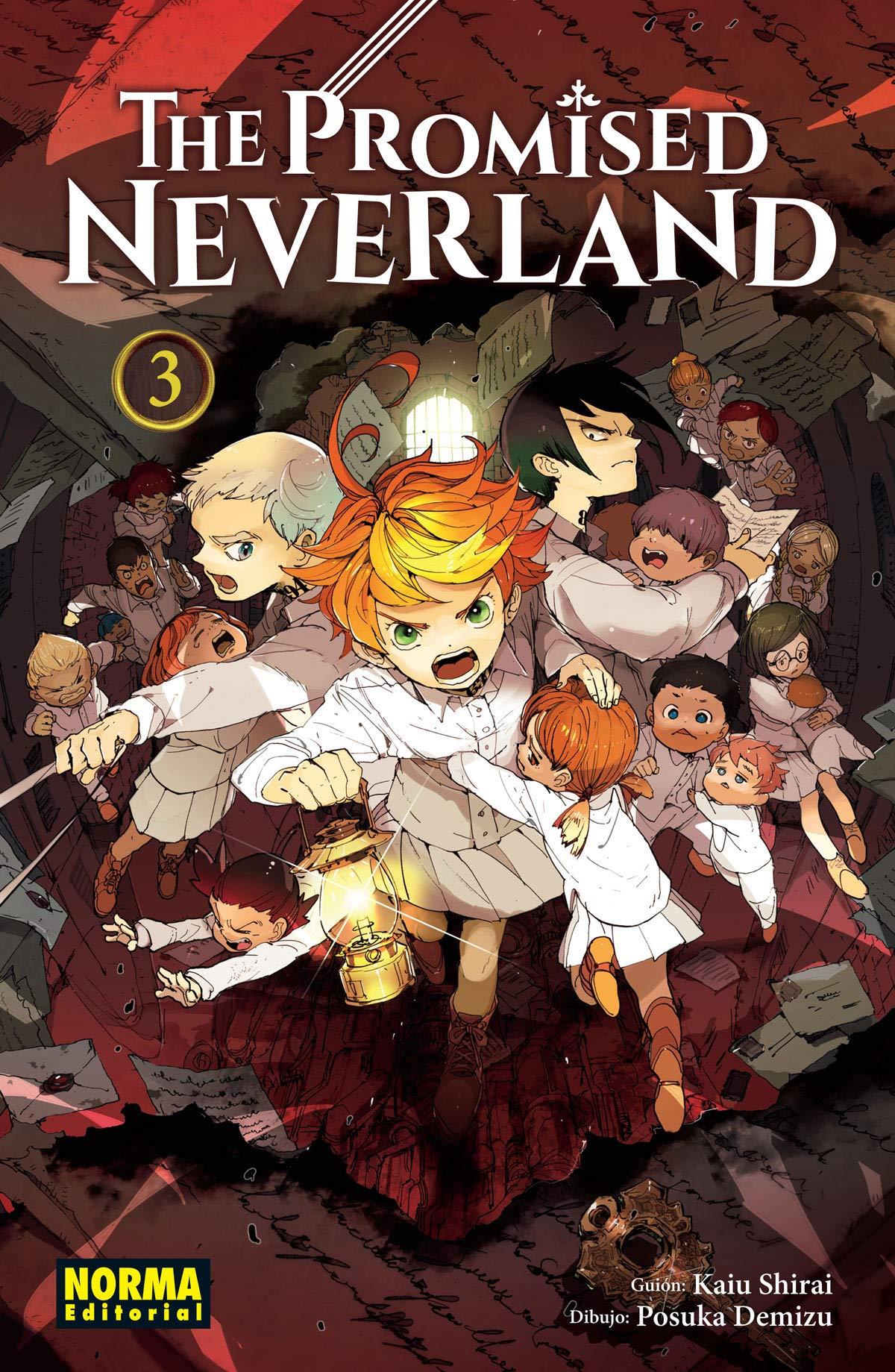The Promised Neverland 3 Tapa blanda – 24 ago 2018 Posuka Demizu Kiau Shirai Norma Comics 846793090X FX