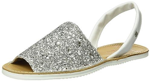 Womens Abarca Glitter Open Toe Sandals Cupl HupCOgOnG