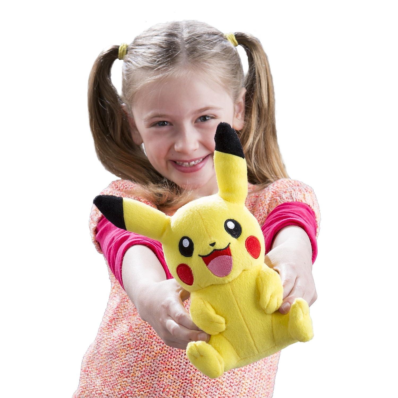 Amazon TOMY Pokémon Small Plush Pikachu Toys & Games