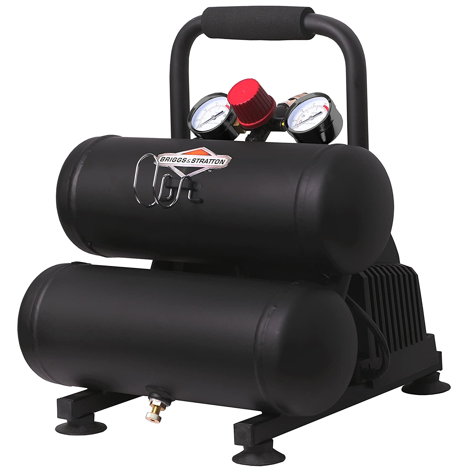 Briggs & Stratton 1-Gallon Air Compressor, Hotdog 074061-00