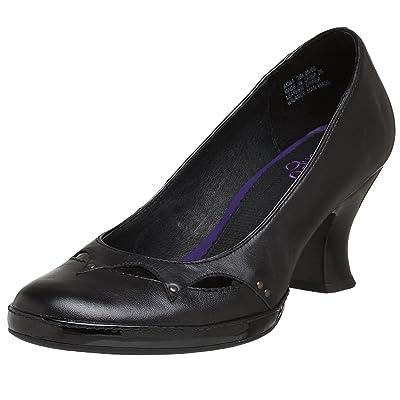 CLARKS Indigo Women's Bewitch Leather Pump, Black, 6 M US | Pumps