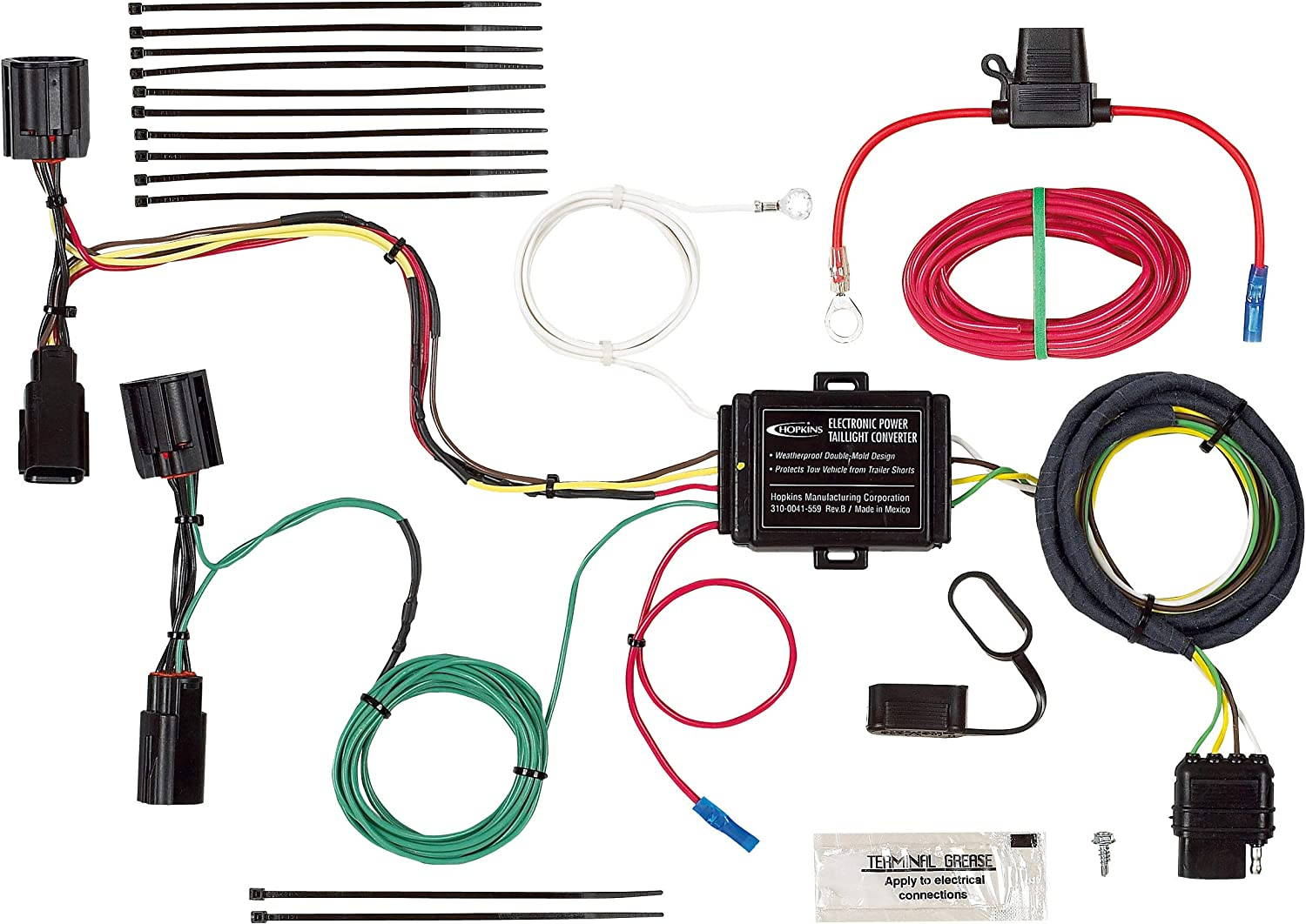 Hopkins 41995 Vehicle Wiring Kit 81RV0Tt-8SLSL1500_