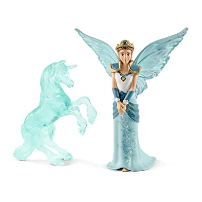 SCHLEICH Movie Eyela with Unicorn-ice-Sculpture: Toys & Games