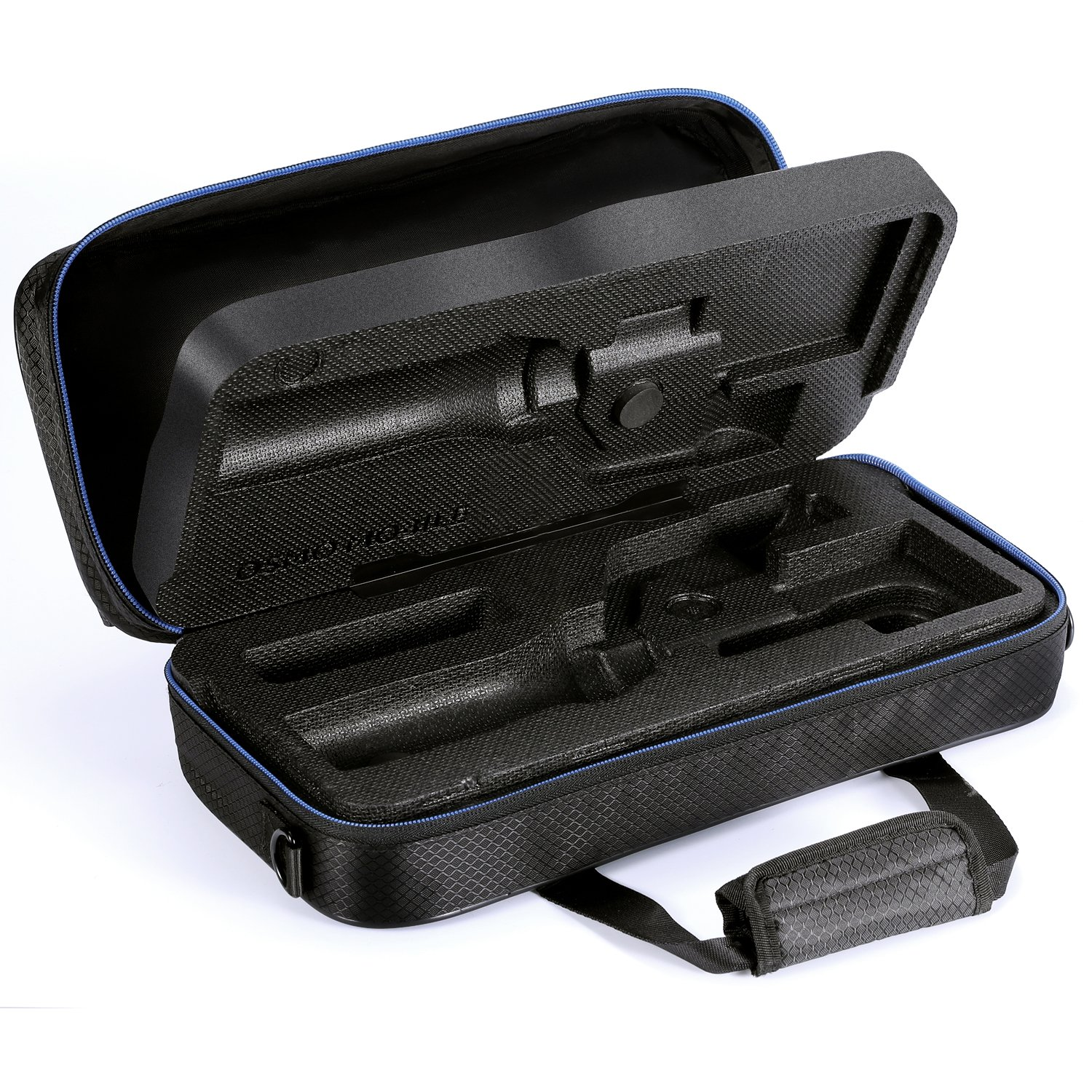 DJI Osmo Mobile 2 Carrying Case by DACCKIT - fit for DJI osmo mobile 2 Handheld Smartphone Gimbal with tripod combo, Extension Stick, Base by DACCKIT (Image #3)
