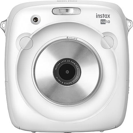 Fujifilm Instax Square SQ10 - Cámara instantánea híbrida de 3.6 MP ...