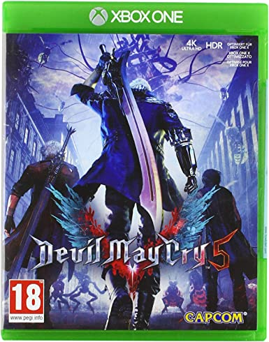 Capcom Devil May Cry 5 Básico Xbox One vídeo - Juego (Xbox One ...