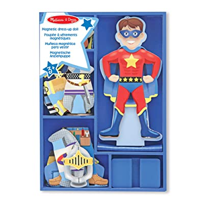 Melissa & Doug Billy Magnetic Dress-Up: Toys & Games