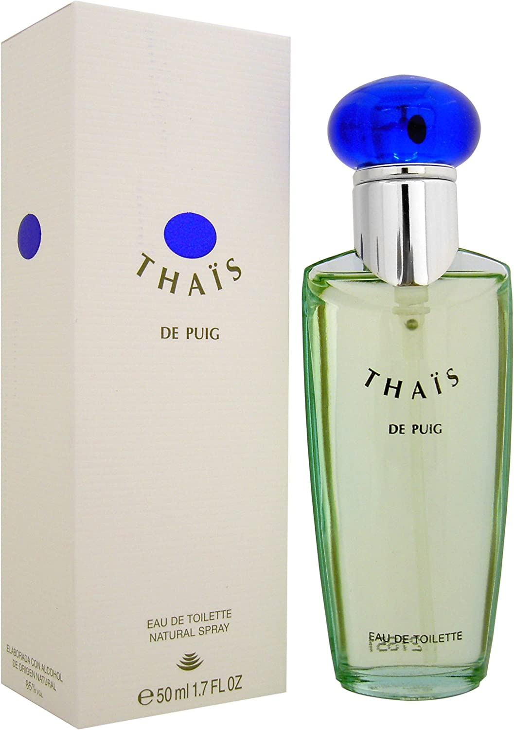 Thais eau de toilette 50 ml natural spray NEW: Amazon.es: Belleza