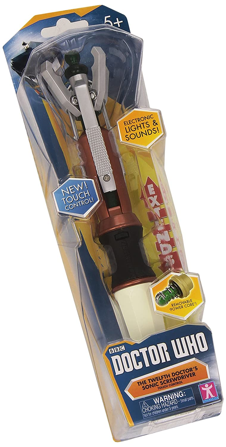 Doctor Who 12th Doctors Premium Sonic Screwdriver with Touch Controls Underground Toys 05357