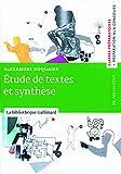 Étude de textes et synthèse