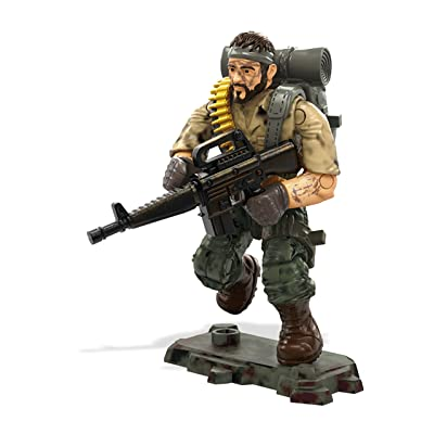 Mega Construx Call of Duty M Sgt. Frank Woods Construction Set: Toys & Games