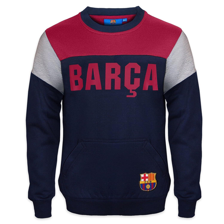 FC Barcelona - Sudadera oficial para niño - Con el escudo del club