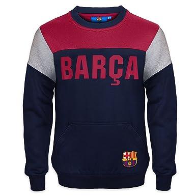a947fae377b71 FC Barcelona - Sudadera oficial para niño - Con el escudo del club - 8-9  años  Amazon.es  Ropa y accesorios