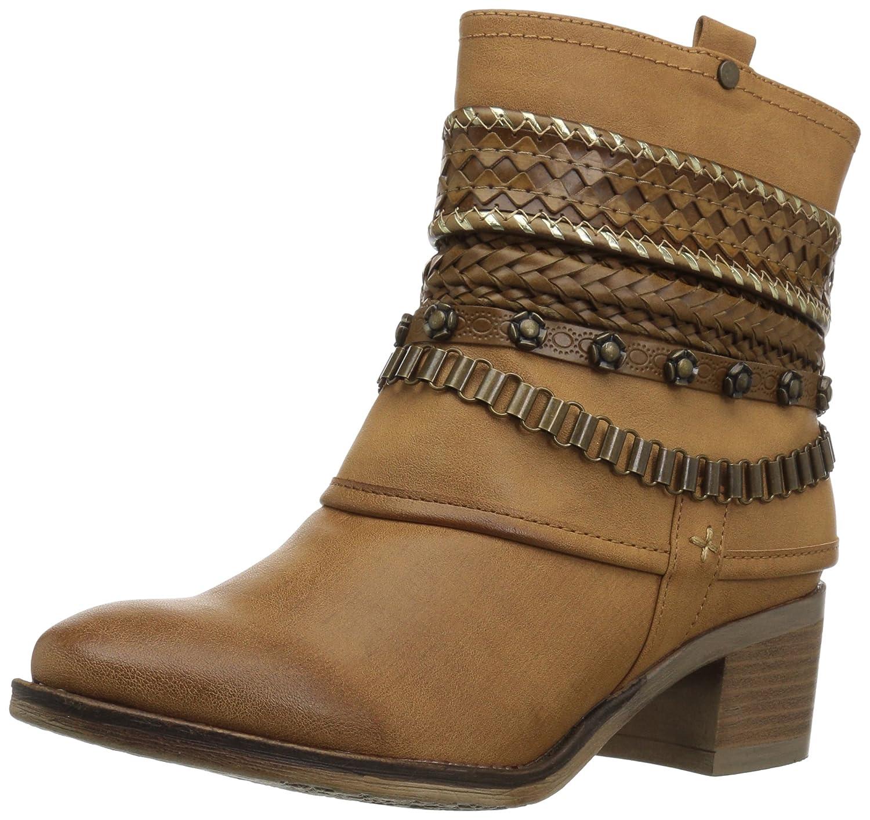 Carlos by Carlos Santana Women's Cole Ankle Boot B079ZB13YW 8.5 B(M) US|Tan