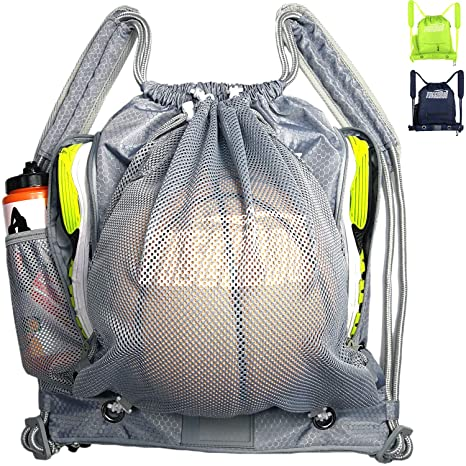 735d0eed57c3 Image Unavailable. Image not available for. Color  Tigerbro Soccer Backpack  for Youth Kids Girls Boys Women Men Sports Bag for Basketball Football with