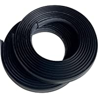 InstaTrim Flexible, Self-Adhesive, Caulk and Trim Strips for Floors, Ceilings, Countertops and More, IT05INBLK