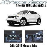 XtremeVision Nissan Juke 2011-2015 (6 Pieces) Cool White Premium Interior LED Kit