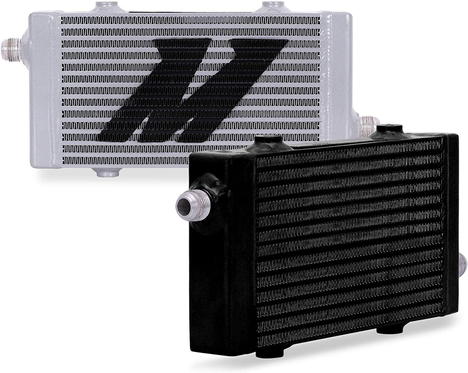 Blue Mishimoto MMOC-19BL Universal 19 Row Oil Cooler