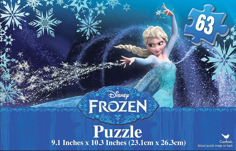 Frozen Mini Puzzle Tin with Handle 63-Piece