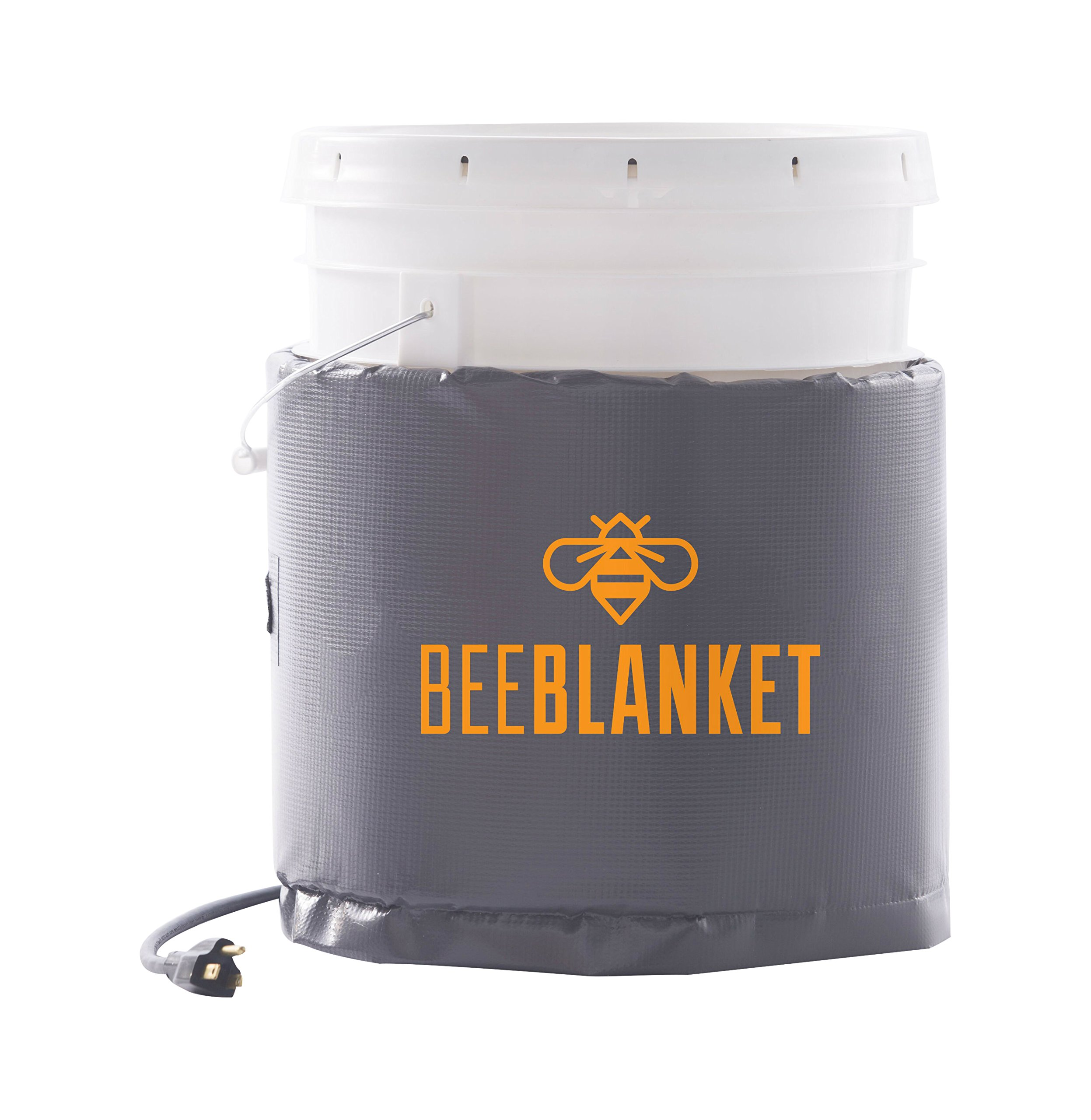 Powerblanket BB05 Bee Blanket 5 gal Pail Heater, Honey/Bucket, 120W, 120V
