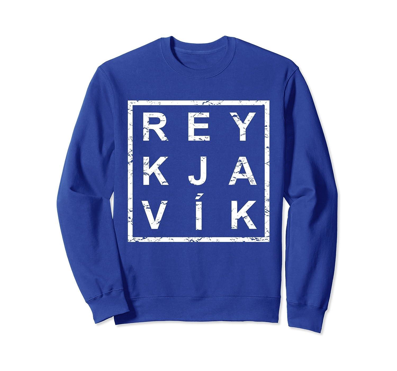 Stylish Reykjavik Iceland Sweatshirt-alottee gift