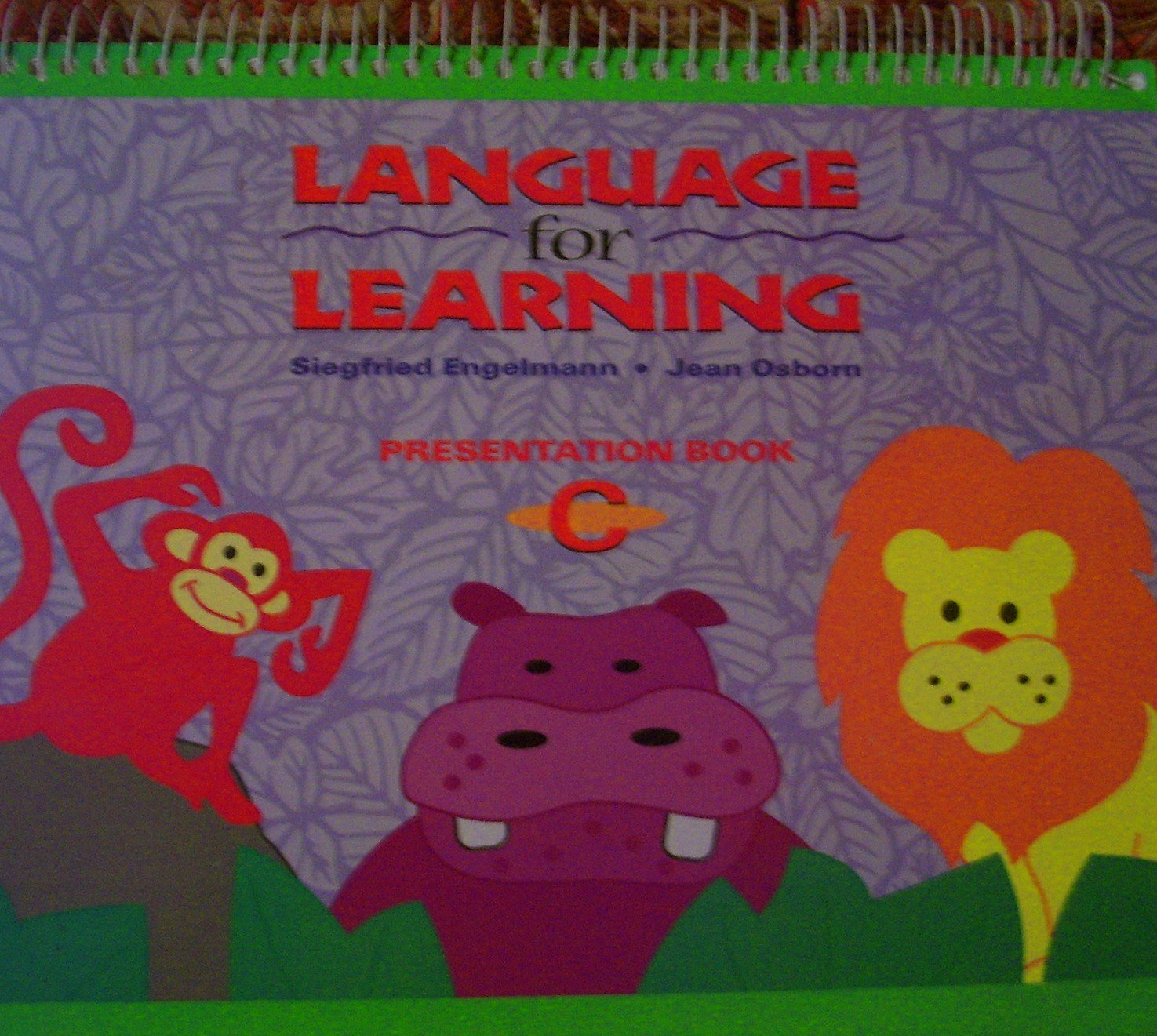 Language for Learning - Presentation Book C by SRA / McGraw-Hill