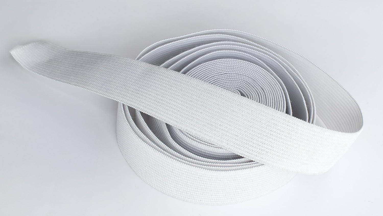 /25/m rollo Negro o Weis 60/mm cinta el/ástica ancha/