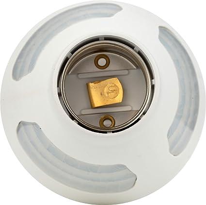 Westek MLC169BC Indoor Motion-Sensing Light Control, White - Light Sockets - Amazon.com