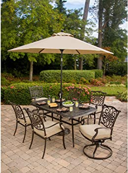 Hanover Traditions Outdoor Patio Dining Set