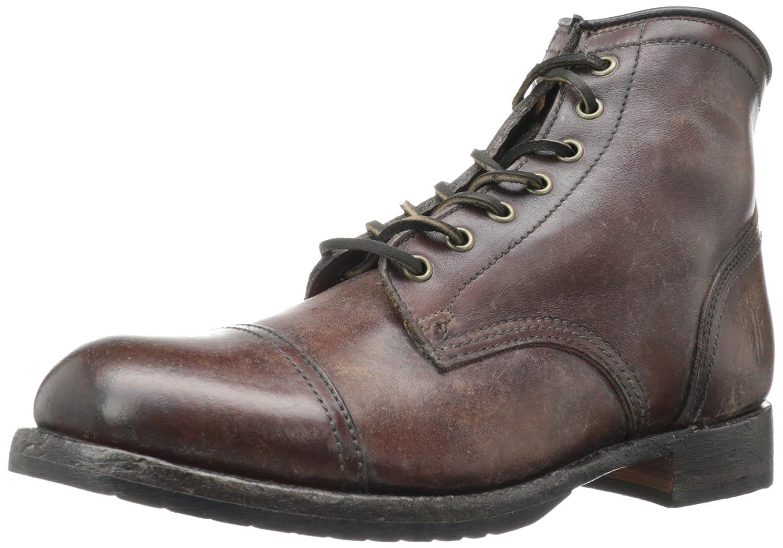 Dark braun - 80156 FRYE Men& 039;s Logan Cap Toe 150 Stiefel