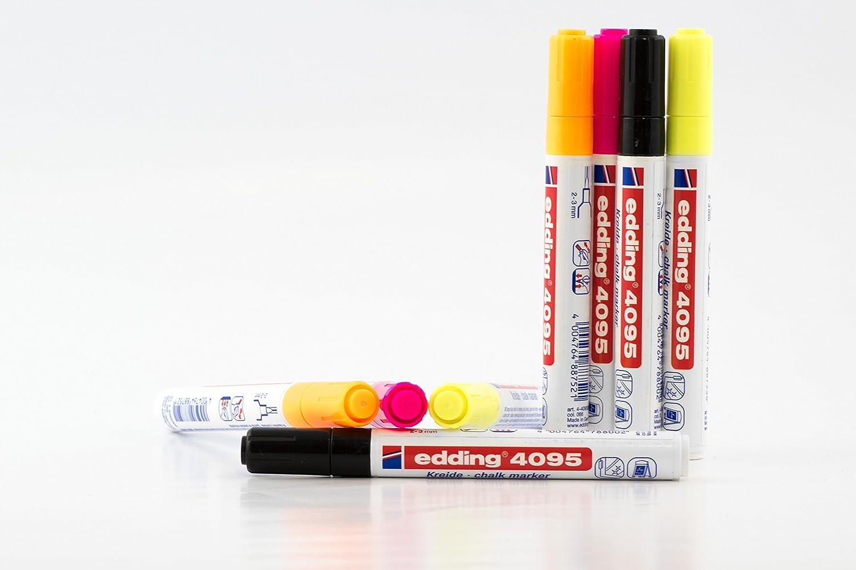 Kreidemarker Edding 4095 Neon Stift Rundspitze 2-3mm