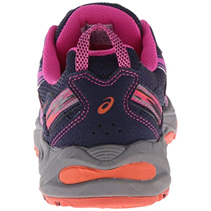 san francisco 50324 0a5c0 ... ASICS Women s Gel-Venture 5 Running Shoe, Indigo Blue Pink Glow Living  ...