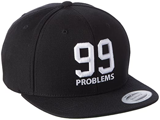 Mister Tee Mens 99 Problems Cap Caps Black One Size Amazoncouk Sports Outdoors