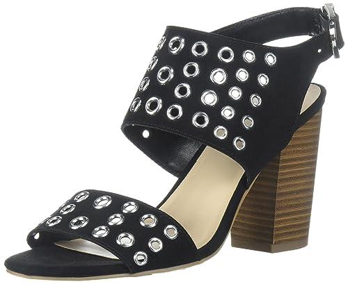 Fergalicious Women's Jolene Heeled Sandal, Black, ...