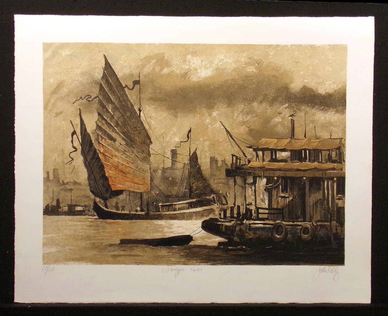 Amazon com: Wangpu River: John Kelly: Fine Art