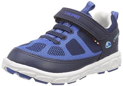 Viking Unisex-Kinder Odda Outdoor Fitnessschuhe, Blau (Navy/Royal 515), 32 EU