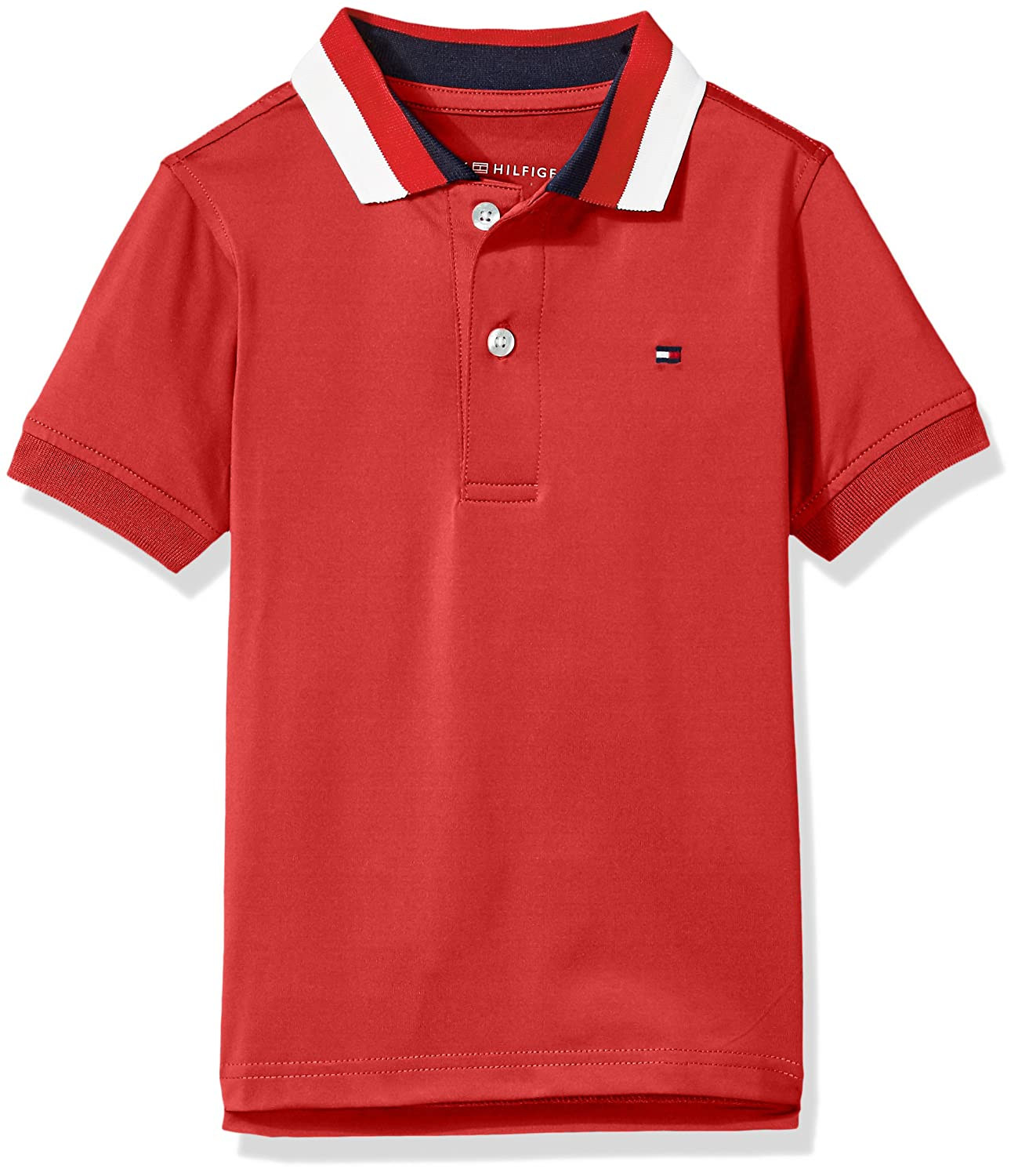 Tommy Hilfiger Boys' Short Sleeve Performance Polo Shirt -