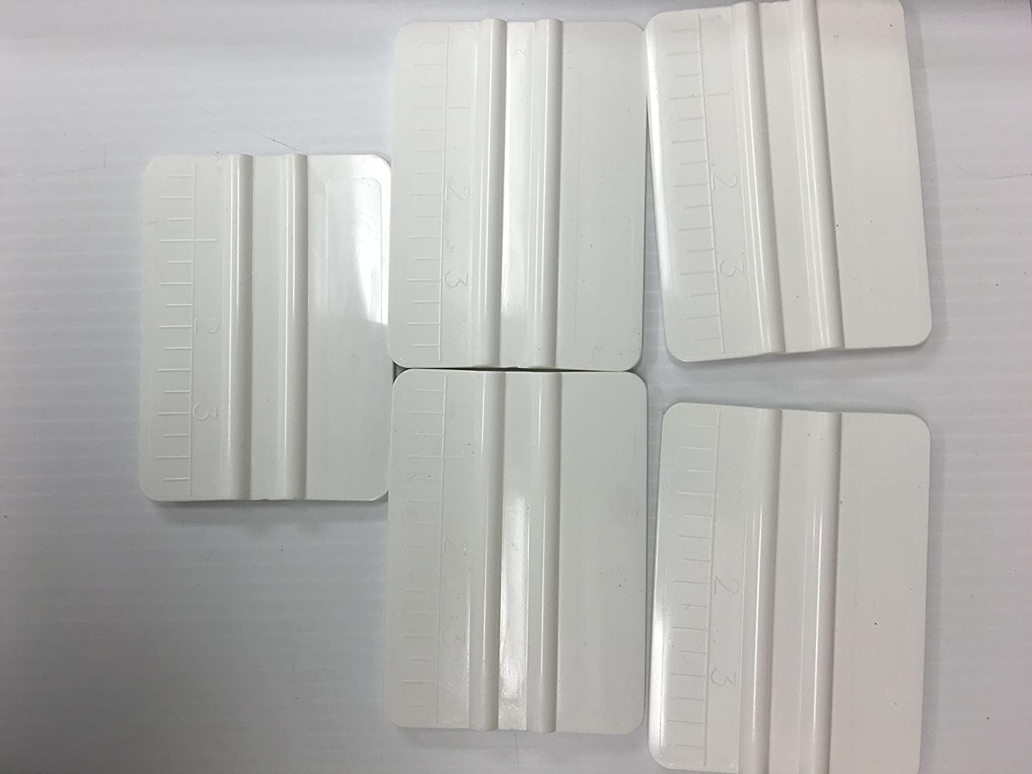 White Squeegee with built in ruler - 5 Pack Lidco 4336976643